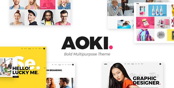 Aoki v1.6.1 NULLED – WP Digital Agency Template