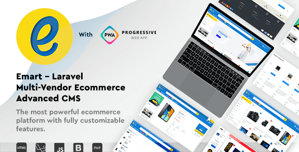 emart v1.5 – Laravel Multi-Vendor Ecommerce Advanced CMS – nulled