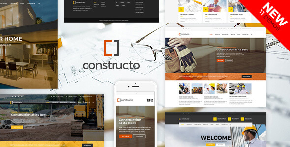 Constructo v4.1.6 – template for a construction campaign WordPress