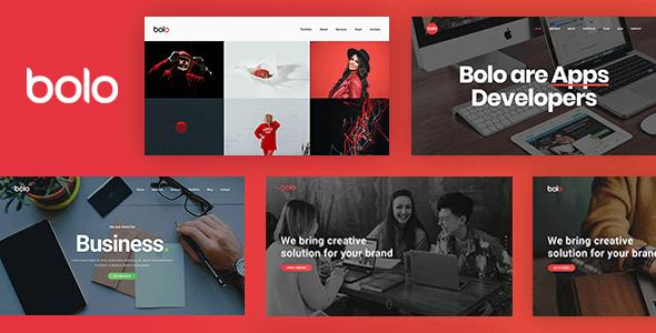 Bolo v1.2.2 – One Page Creative Multipurpose Website Template