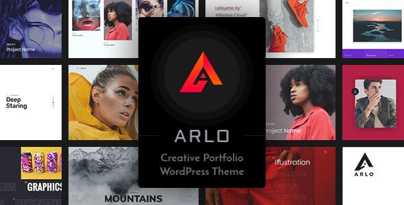 Arlo v3.1   personal portfolio WordPress theme