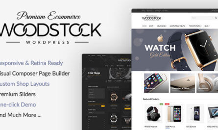 Woodstock v2.3 - WordPress online store Themes