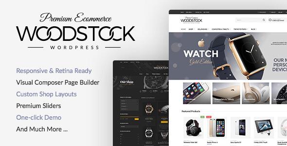 Woodstock v2.3 - WordPress online store Themes