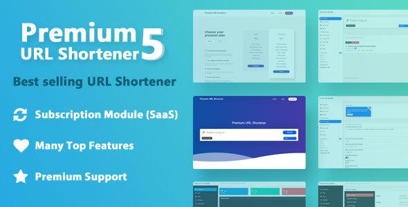 Premium URL Shortener v5.9.2
