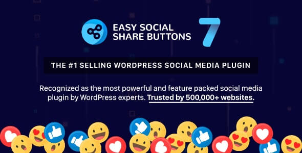 Easy Social Share Buttons for WordPress v7.5