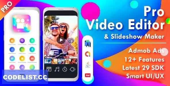 Pro Video Editor & Photo Video Maker for Android v2.0