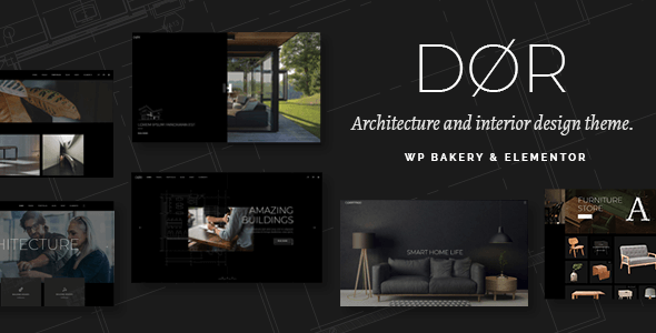 Dør v2.1 NULLED – Modern Architecture and Interior Design WordPress Theme