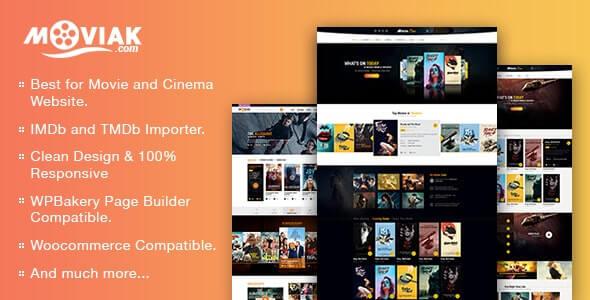 AmyMovie v3.5.0 – Movie and Cinema WordPress Theme