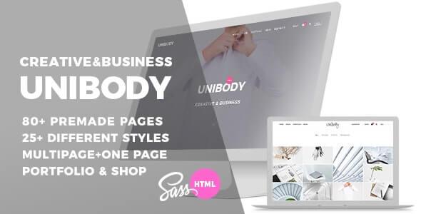 Unibody v1.1.0 – Multipurpose One/Multi Page HTML5 Template