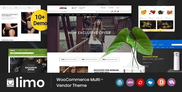 Limo v1.0 – multifunctional WooCommerce theme