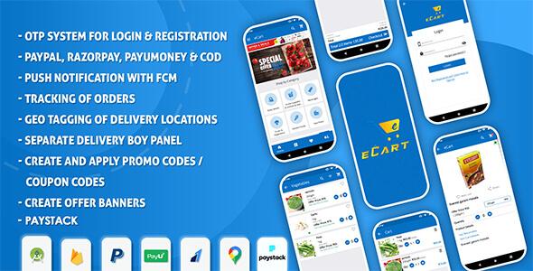 eCart v2.0.5 – Android ecommerce app