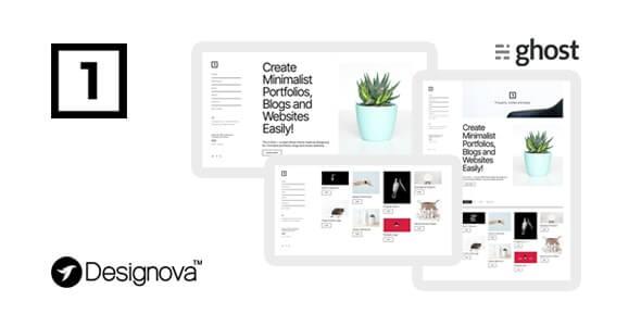 One v1.0 – Simple & Minimal Ghost Theme for Portfolios / Websites / Blogs