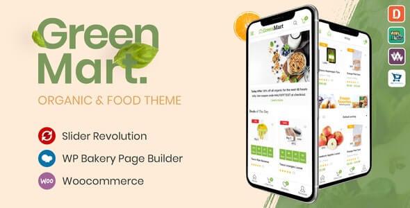GreenMart v2.5.2 – Organic & Food WooCommerce WordPress Theme