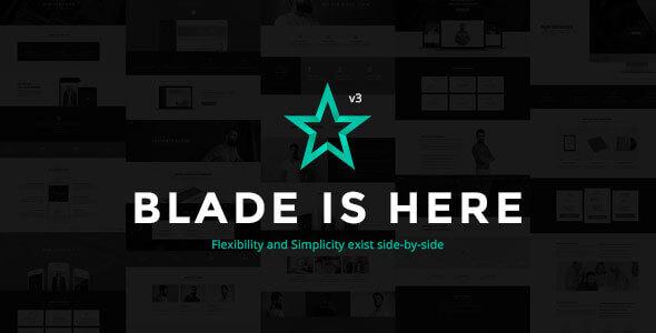 Blade v3.2.7 – Responsive Multi-Functional Theme