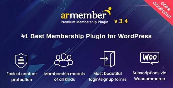 ARMember v4.0.2 – WordPress Membership Plugin