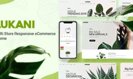 Lukani v1.0.8 - Plant Store Theme for WooCommerce WordPress