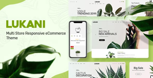 Lukani v1.0.8 – Plant Store Theme for WooCommerce WordPress