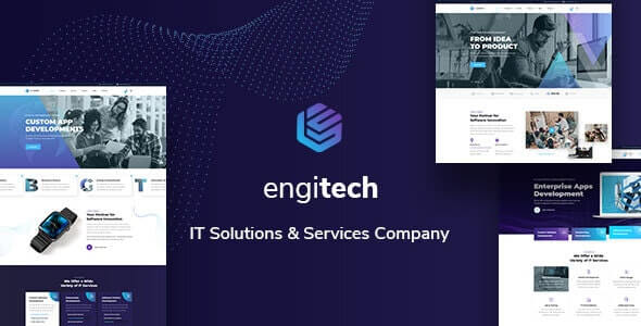 Engitech v1.0 – IT Solutions & Services Template