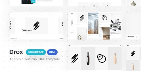 Drox v1.0 – Agency & Portfolio HTML5 Responsive Template