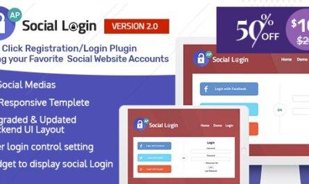 Social Login WordPress Plugin v2.0.5
