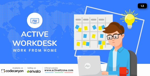 Active Workdesk CMS v1.3 – nulled