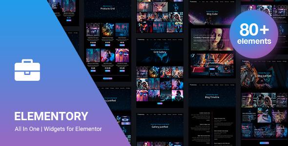 Elementory v3.0 – Elementor Ultimate Addons