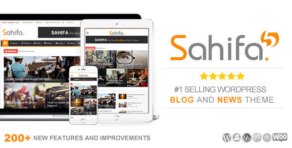 Sahifa v5.7.4 – Responsive WordPress News, Magazine