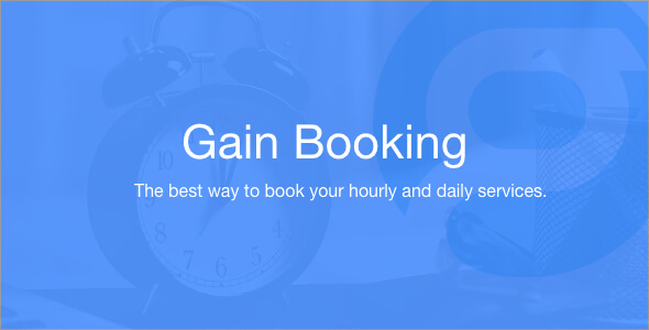 Gain Booking v1.1.3 – nulled