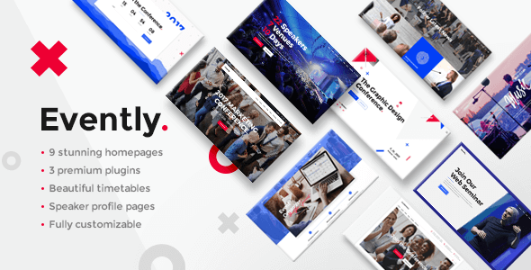 Evently v1.8 – Event & Conference Theme