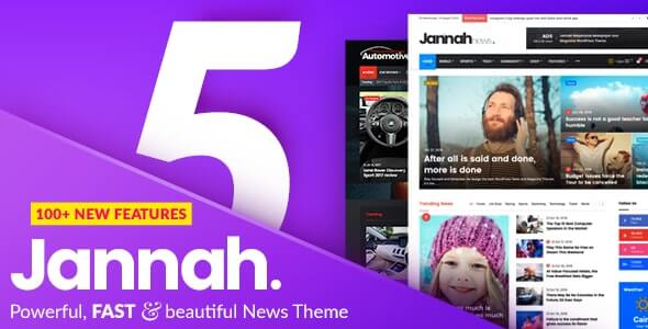 Jannah 5.4.0 Nulled – Newspaper Magazine News BuddyPress AMP